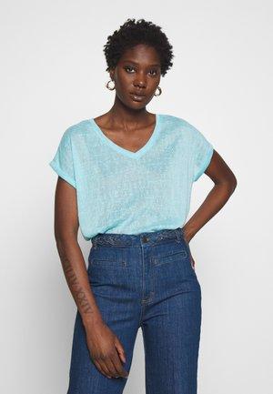 T-Shirt basic - fresh aqua