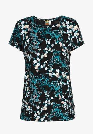 T-SHIRT KURZARM - T-shirts med print - black