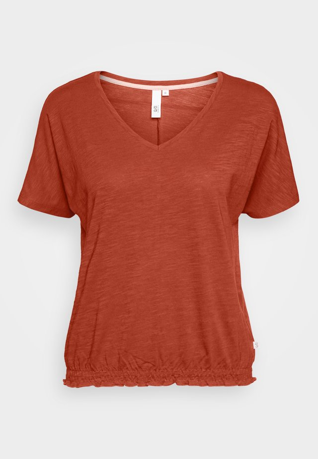 T-shirt basic - rust