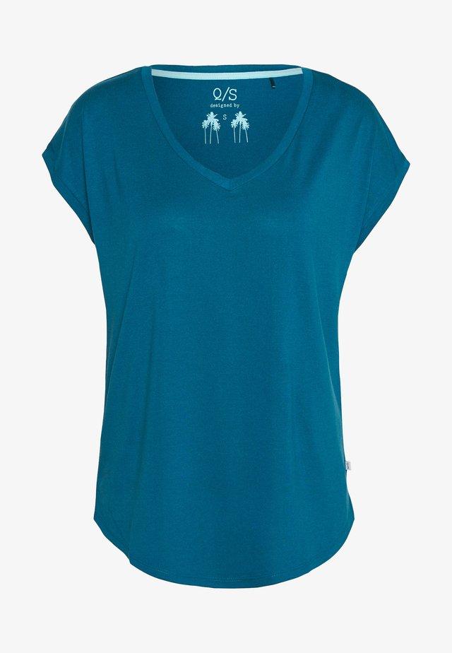 T-Shirt basic - petrol
