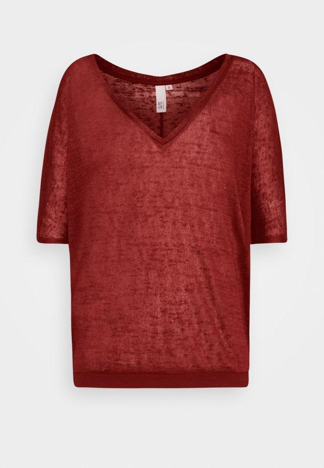 T-shirt basique - rust