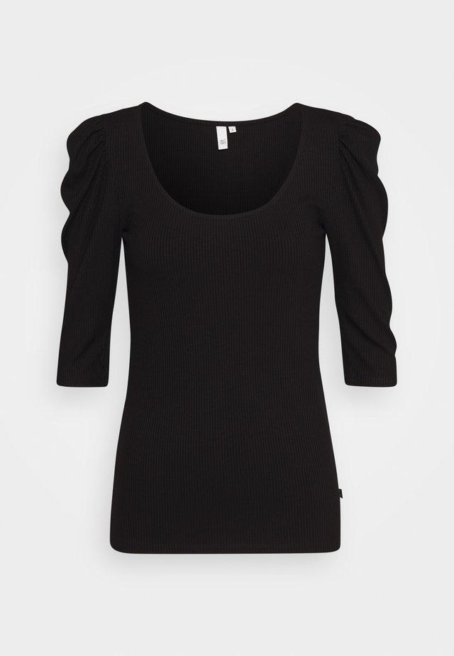 Bluzka z długim rękawem - black