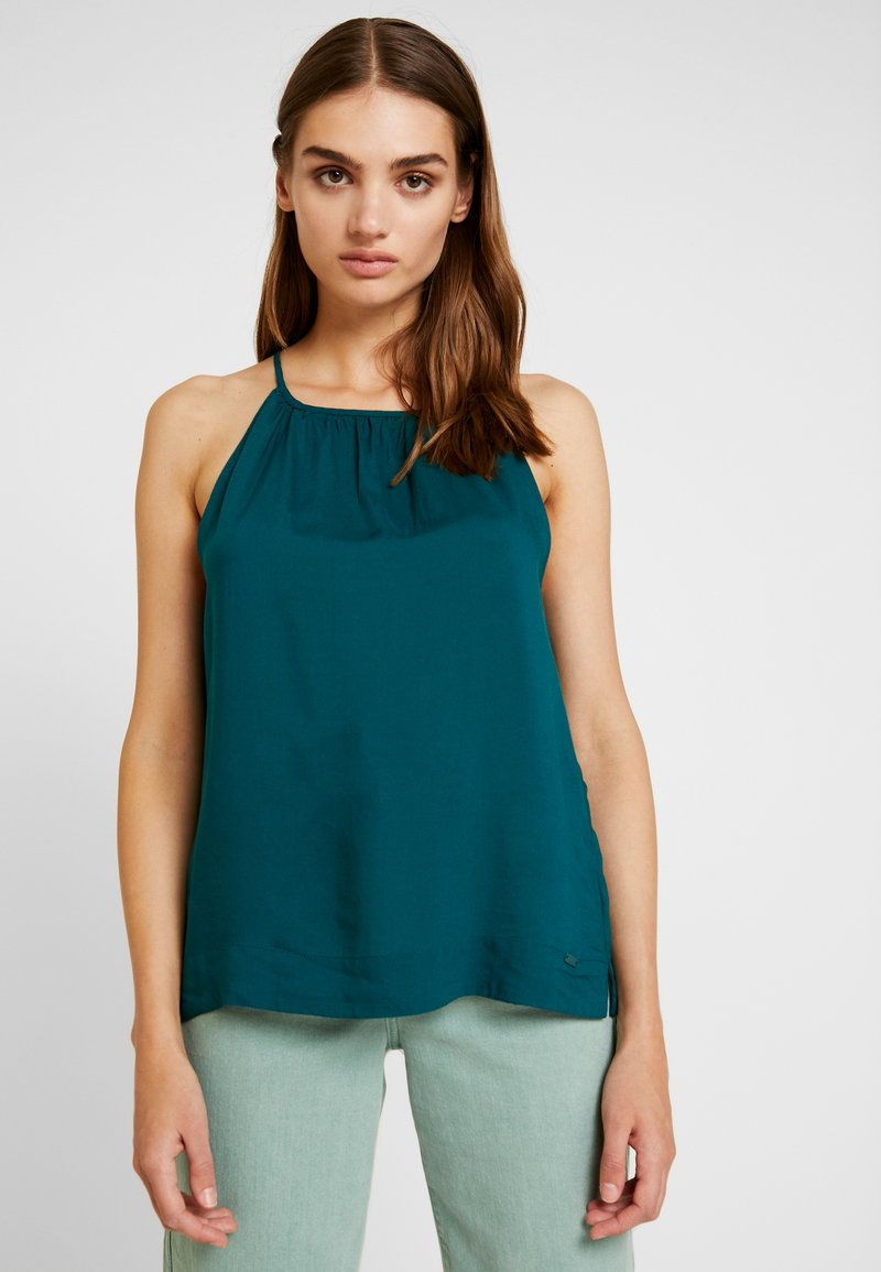 Q/S designed by - Blouse - tropical green