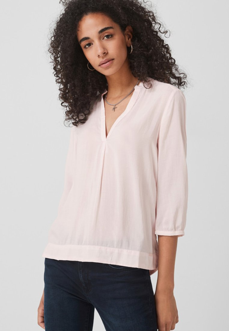 Q/S designed by - 3/4 ARM - Bluse - light pink