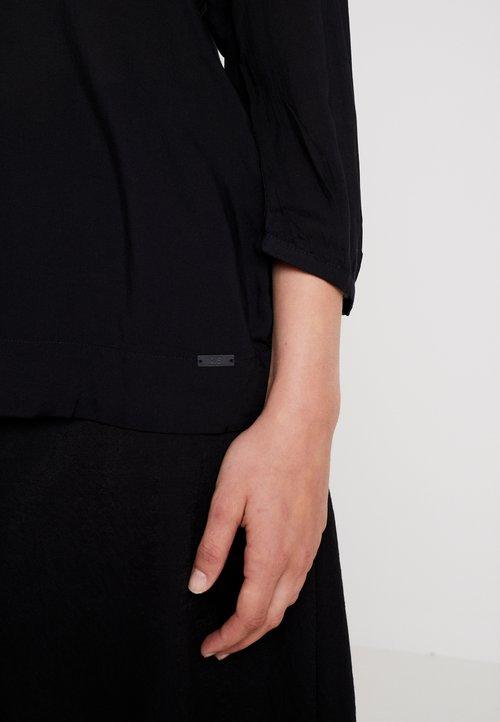 ekonomiczny Q/S designed by 3/4 ARM - Bluzka - black Koszulki i Topy XSIO-EP1