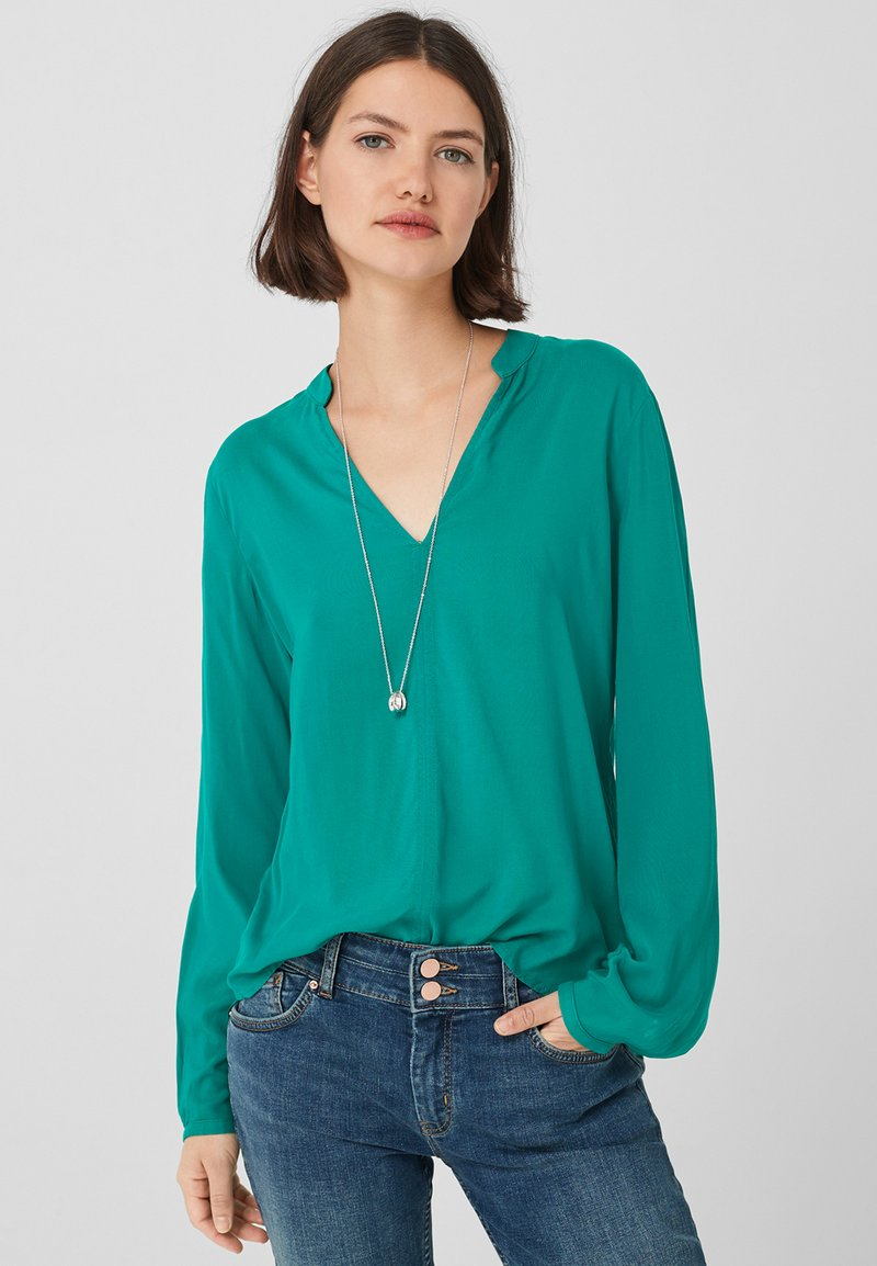 Q/S designed by - LEICHTE - Blouse - green
