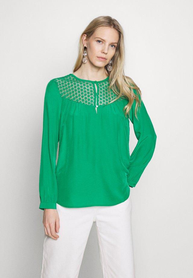 Blouse - jolly green