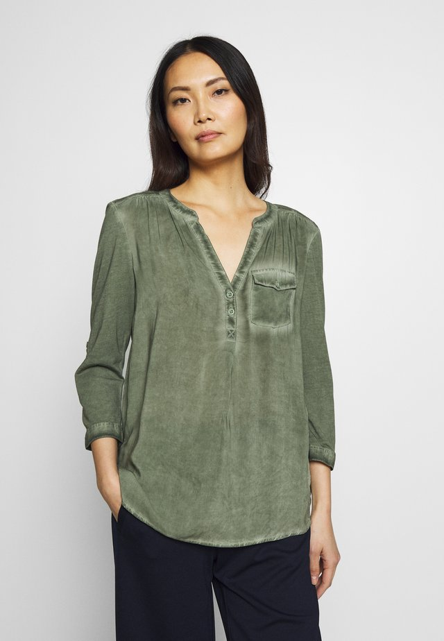 BLUSE 3/4 ARM - Blouse - green