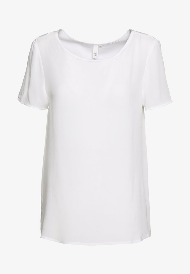 BLUSE - KURZE ÄRMEL - T-shirts basic - white