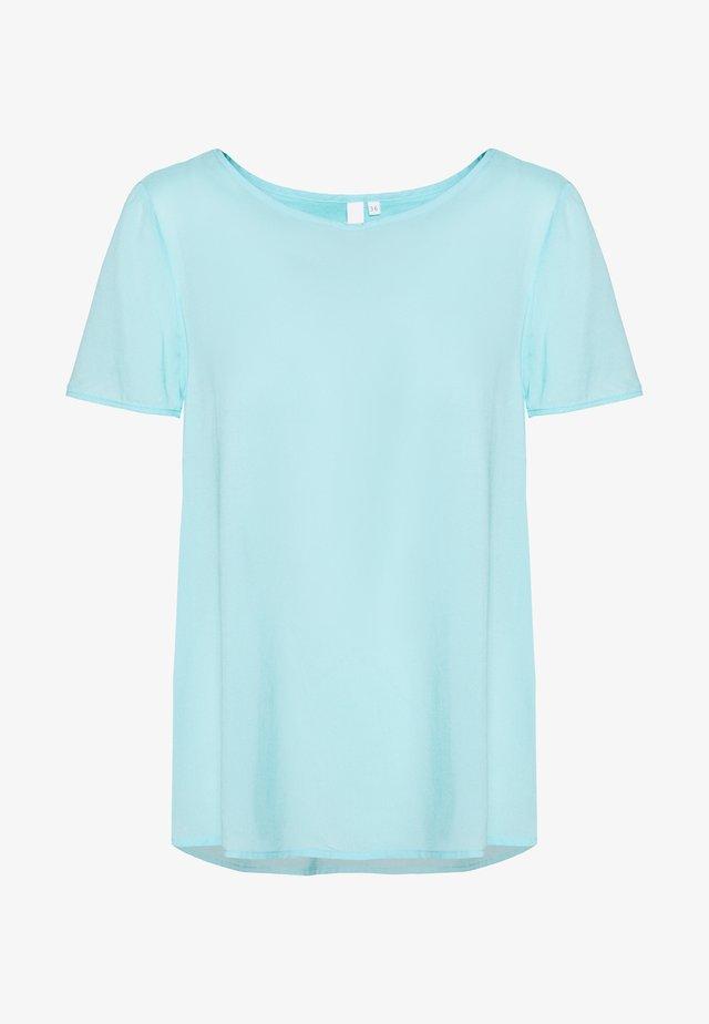 BLUSE - KURZE ÄRMEL - Basic T-shirt - tiffany