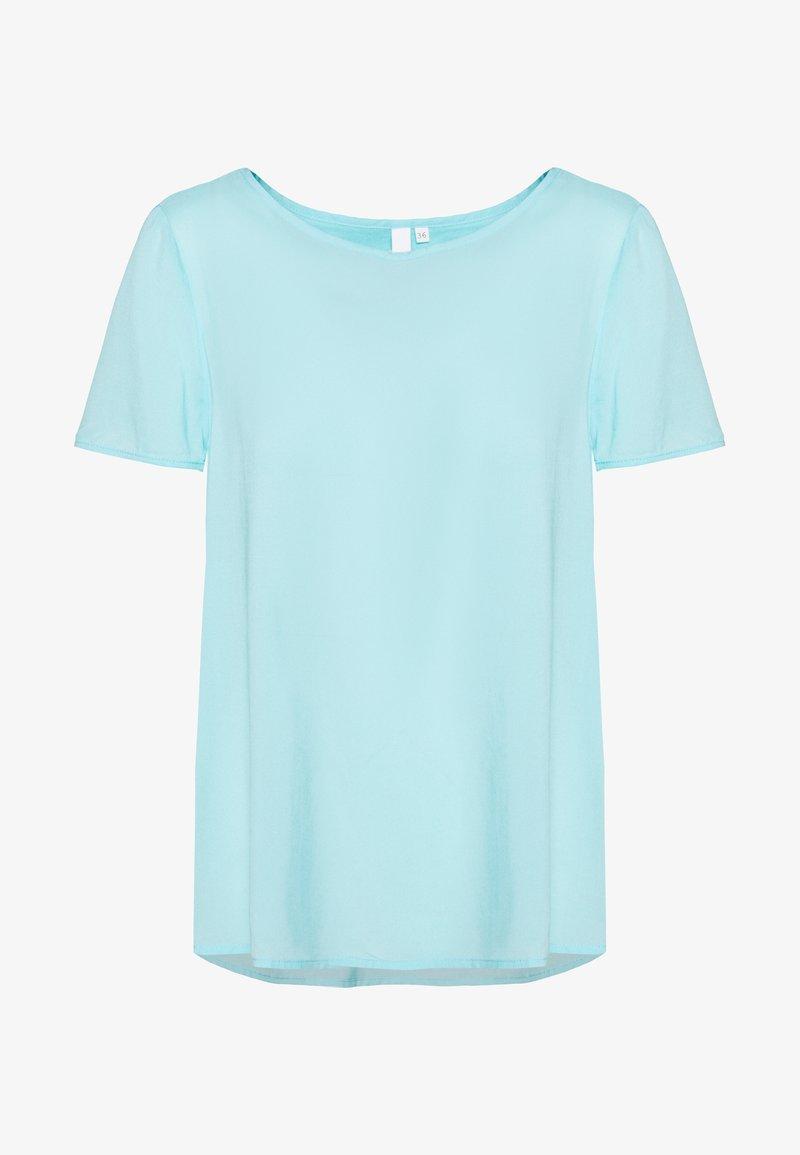 Q/S designed by - BLUSE - KURZE ÄRMEL - T-shirts basic - tiffany