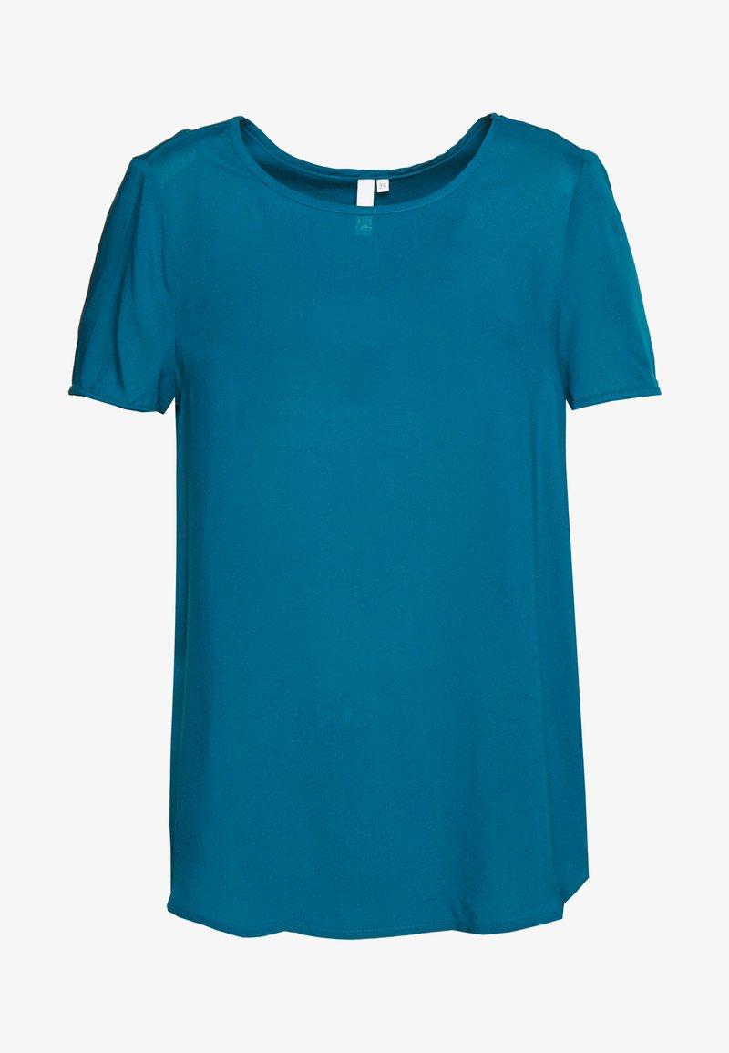Q/S designed by - BLUSE - KURZE ÄRMEL - T-shirt basique - petrol