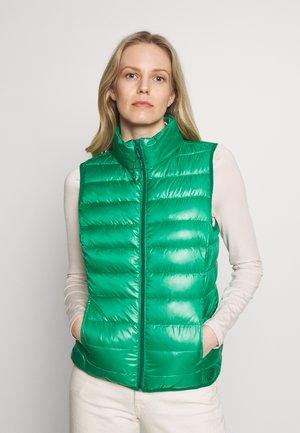 Waistcoat - jolly green
