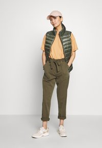 Q/S designed by - Waistcoat - olive - 1