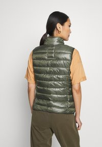 Q/S designed by - Waistcoat - olive - 2