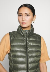 Q/S designed by - Waistcoat - olive - 3