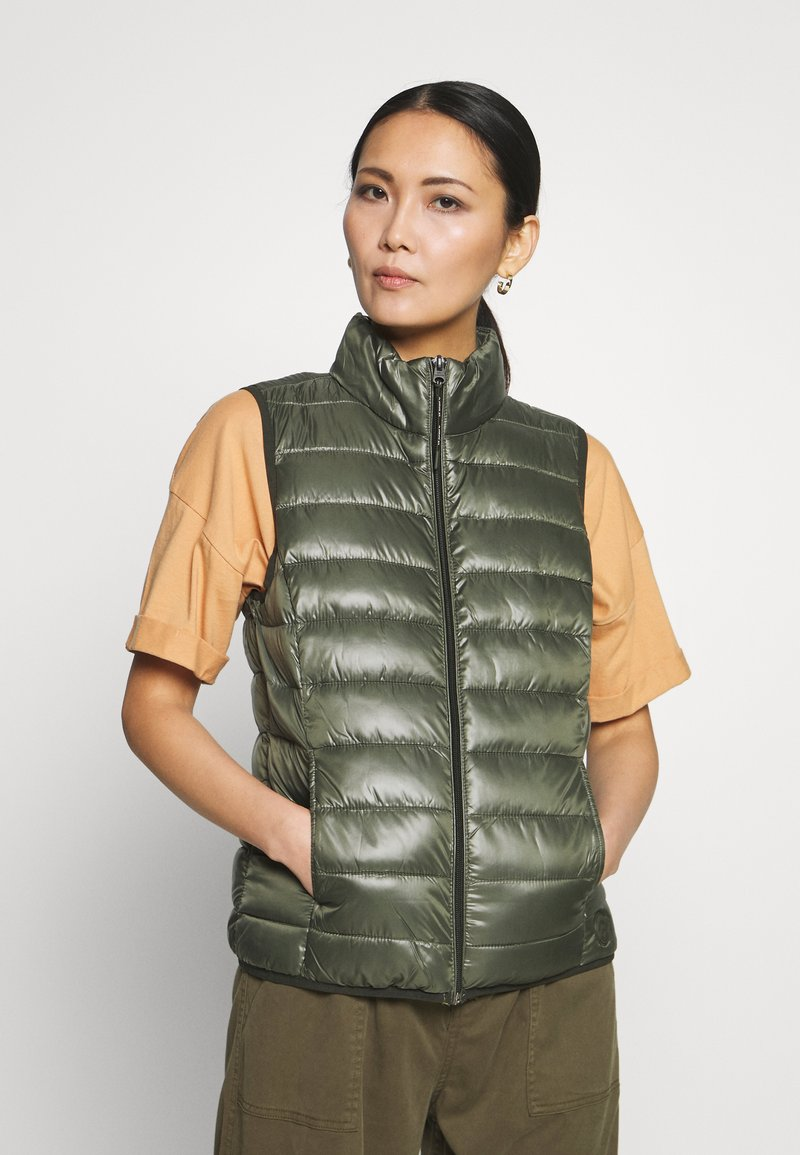 Q/S designed by - Waistcoat - olive