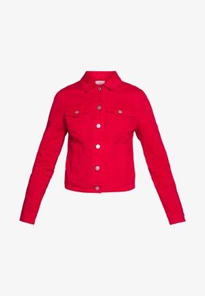 OUTDOOR  JACKE - Denim jacket - flame red