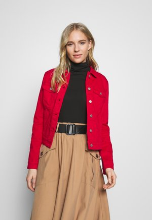 OUTDOOR  JACKE - Veste en jean - flame red