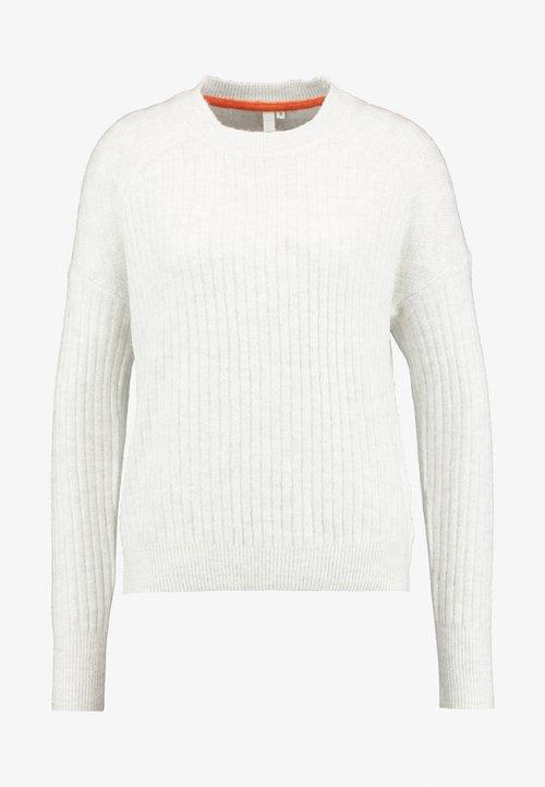 piękny Q/S designed by LONG SLEEVE - Sweter - beige Odzież Damska KECI-QG3