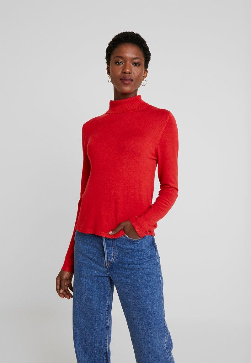 Q/S designed by - LANGE ÄRMEL - Pullover - red
