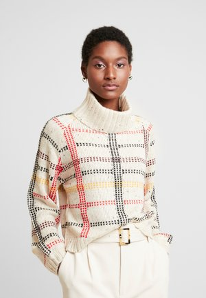 LANGE ÄRMEL - Sweter - beige