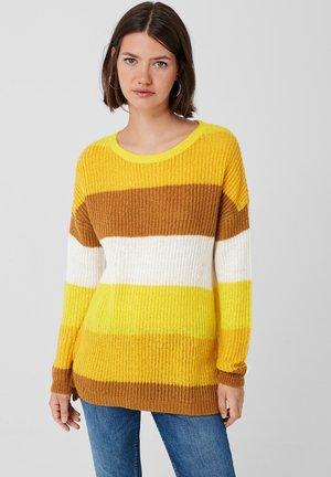 Jumper - dark yellow