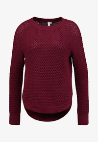 Q/S designed by - Pullover - dark red - 4
