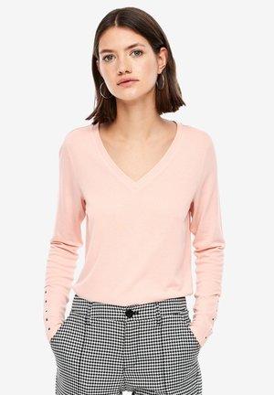 MIT V-NECK - Langarmshirt - light pink