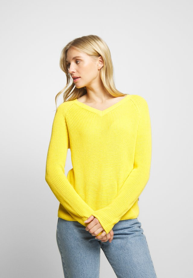 Sweter - marigold