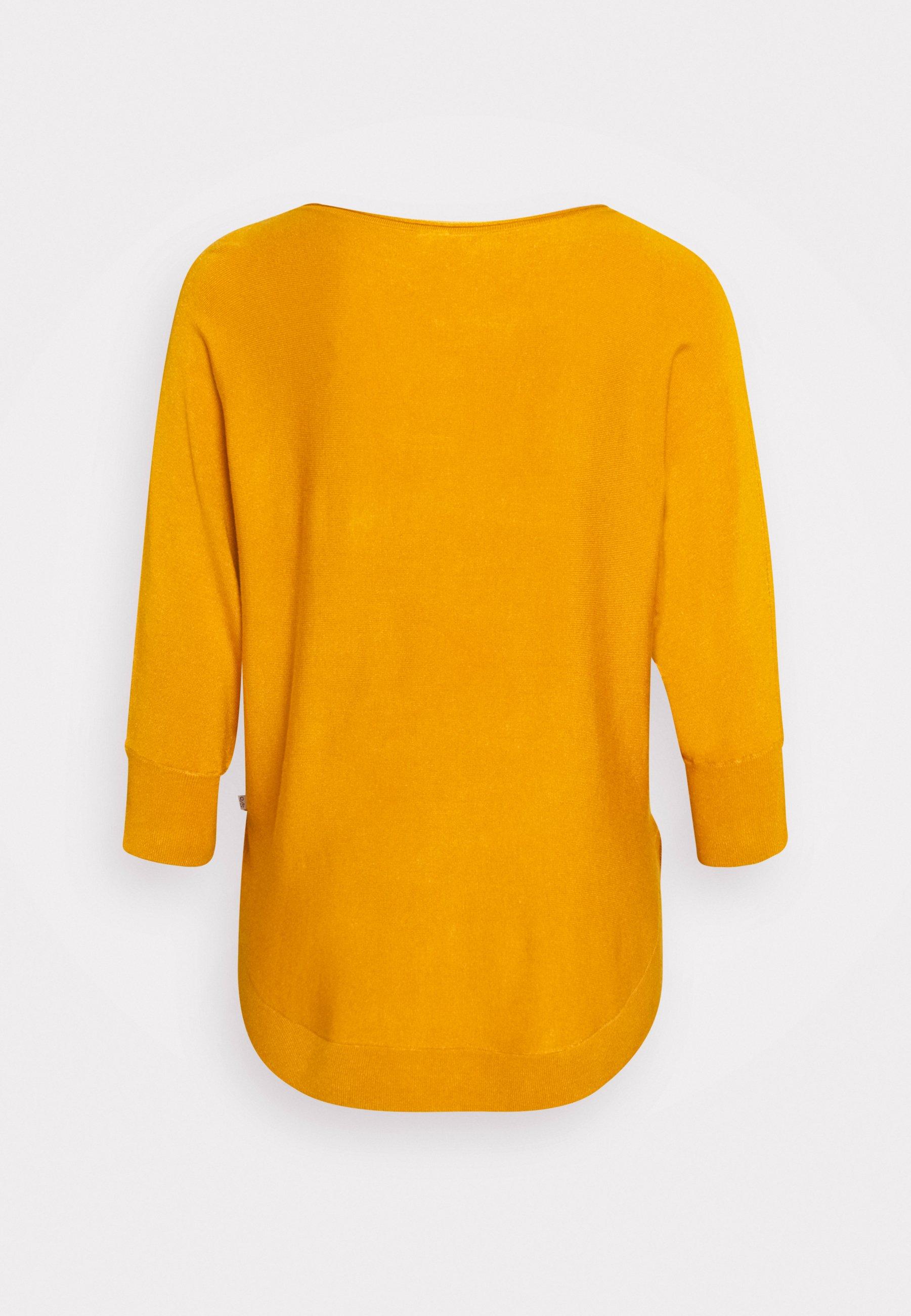 s.Oliver LANGARM Pullover yellow ZALANDO.FR