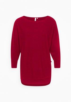 LANGARM - Sweter - brick red