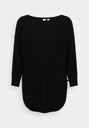 LANGARM - Strikpullover /Striktrøjer - black