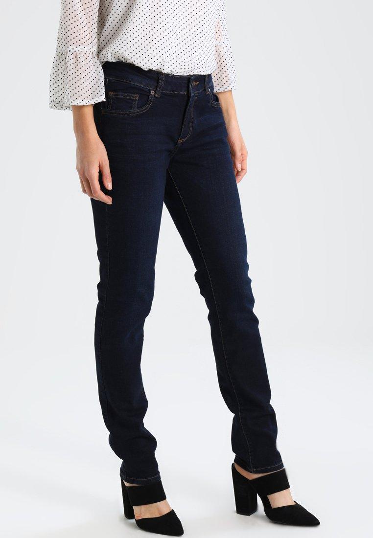 Q/S designed by - Straight leg jeans - blue denim medium stone washed
