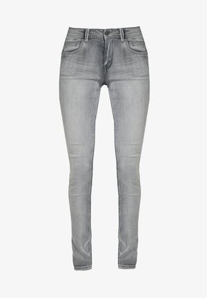 Jeans Skinny Fit - black denim bleached