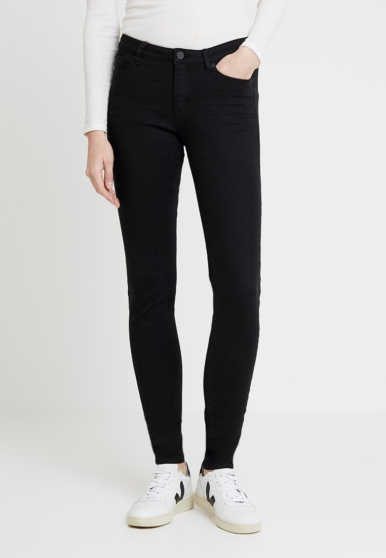 Q/S designed by - Jeans Skinny Fit - black denim