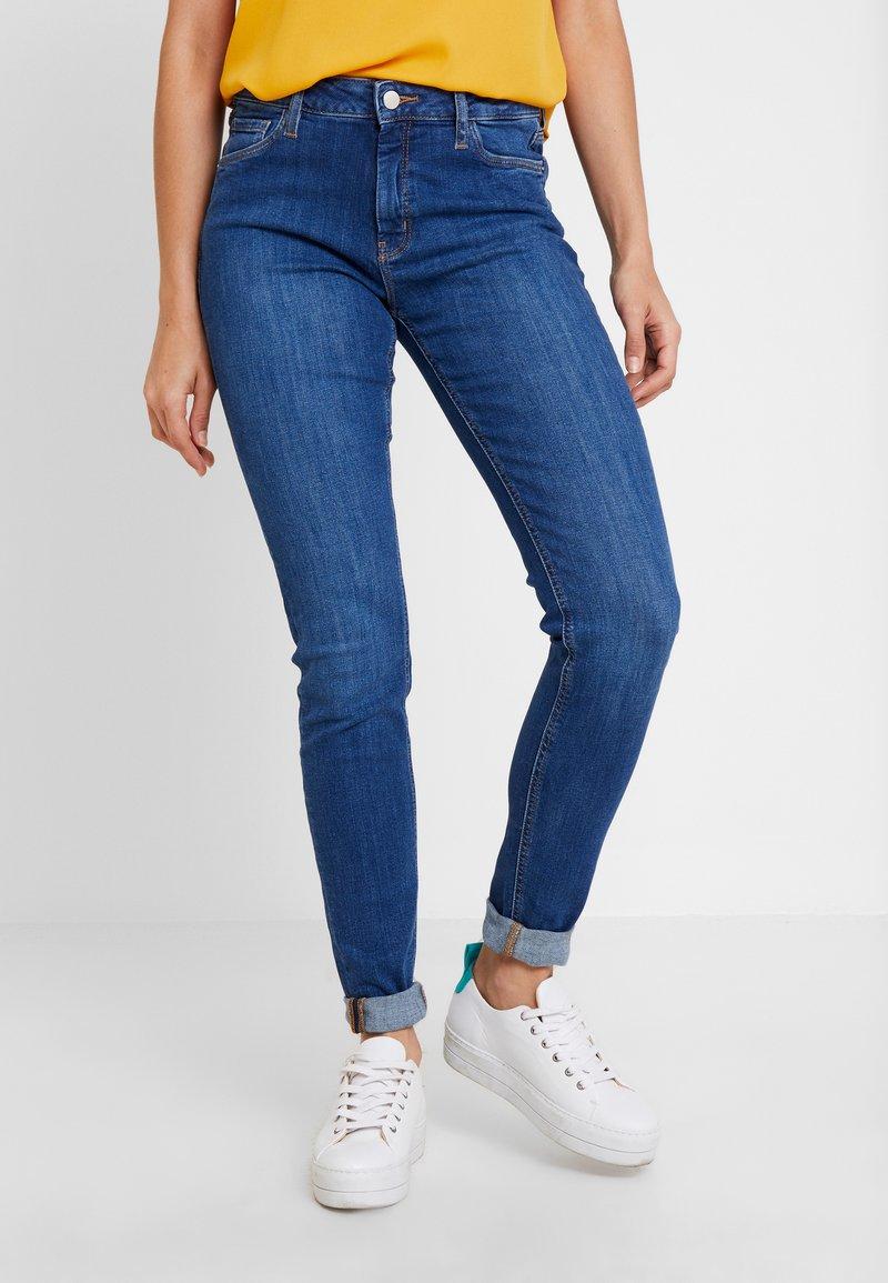 Q/S designed by - HOSE LANG - Jeans Skinny Fit - blue denim