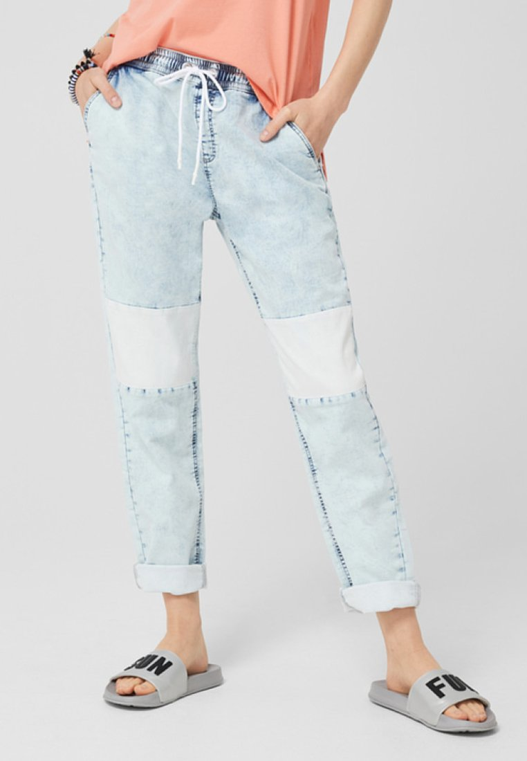 Q/S designed by - Jeans Tapered Fit - blue denim