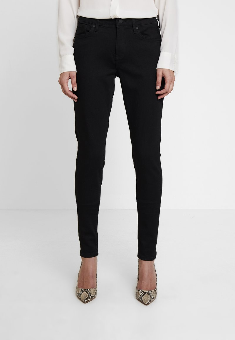 Q/S designed by - HOSE LANG - Jeans Skinny Fit - black mela