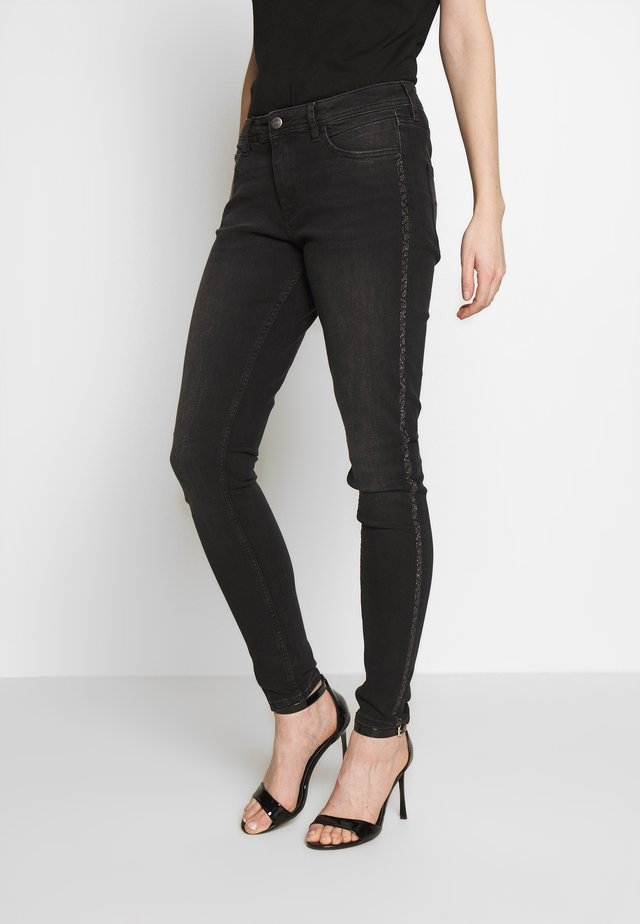 LANG - Slim fit jeans - black