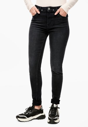 REENA - Slim fit jeans - dark grey