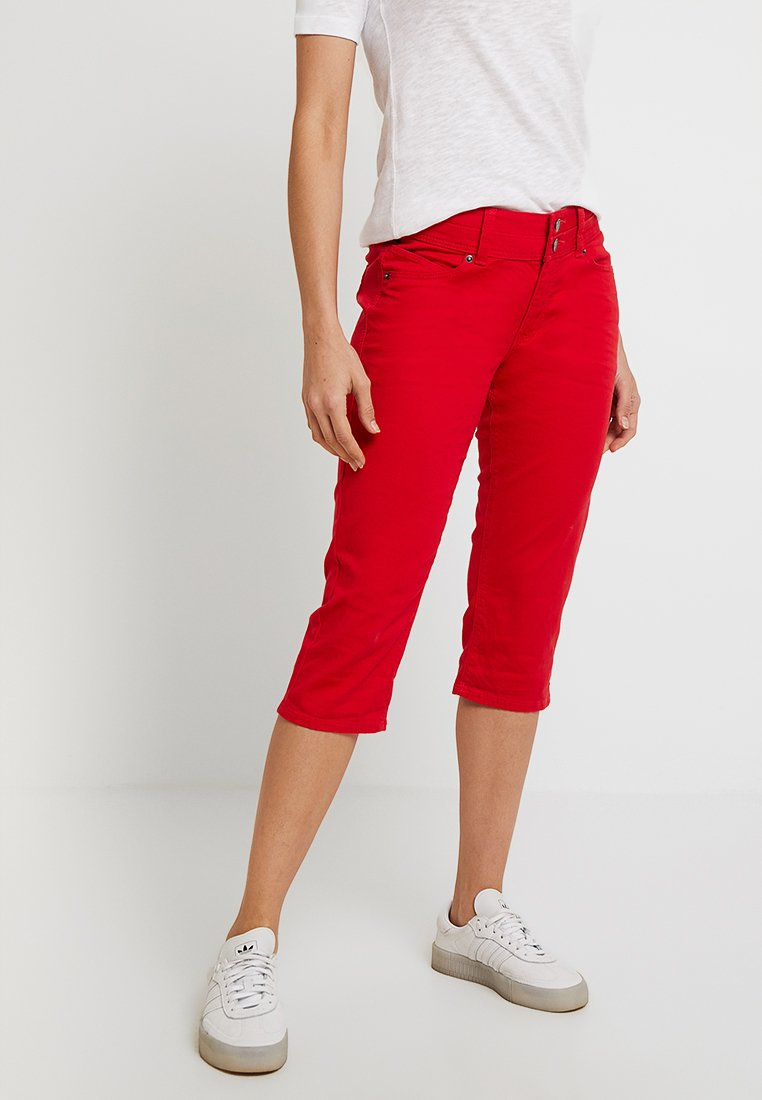 Q/S designed by - Denim shorts - red