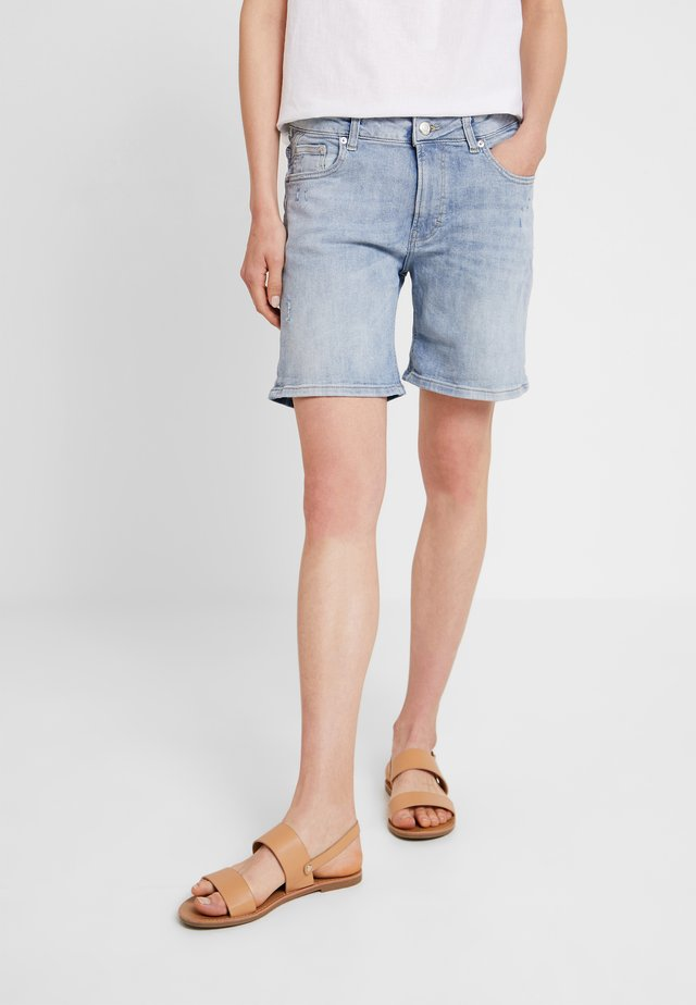 KURZ - Jeans Shorts - blue