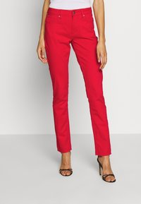 Q/S designed by - LANG - Jeans Slim Fit - red - 0