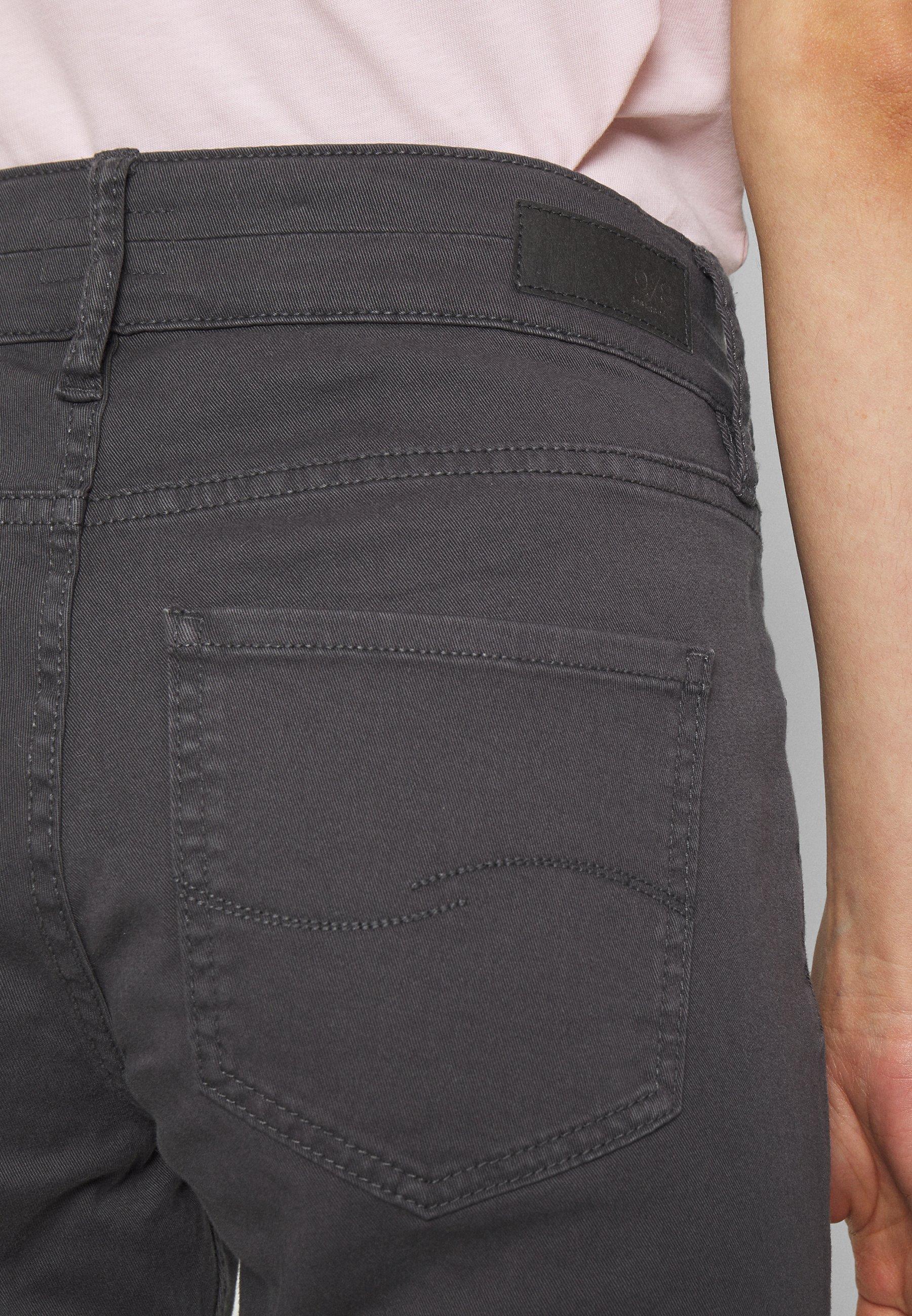 Q/S designed by Szorty jeansowe - asphalt