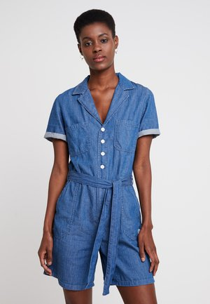 OVERALL KURZ - Kombinezon - blue denim