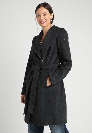 Cappotto corto - dark melange