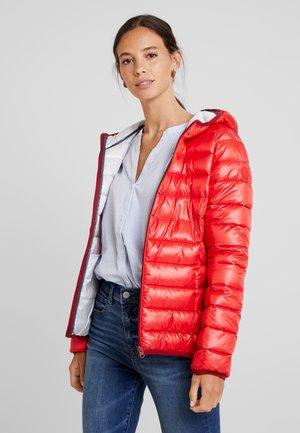 LANGARM - Lehká bunda - red
