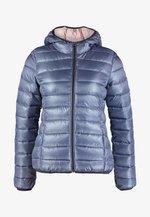 Winter jacket - blue/grey