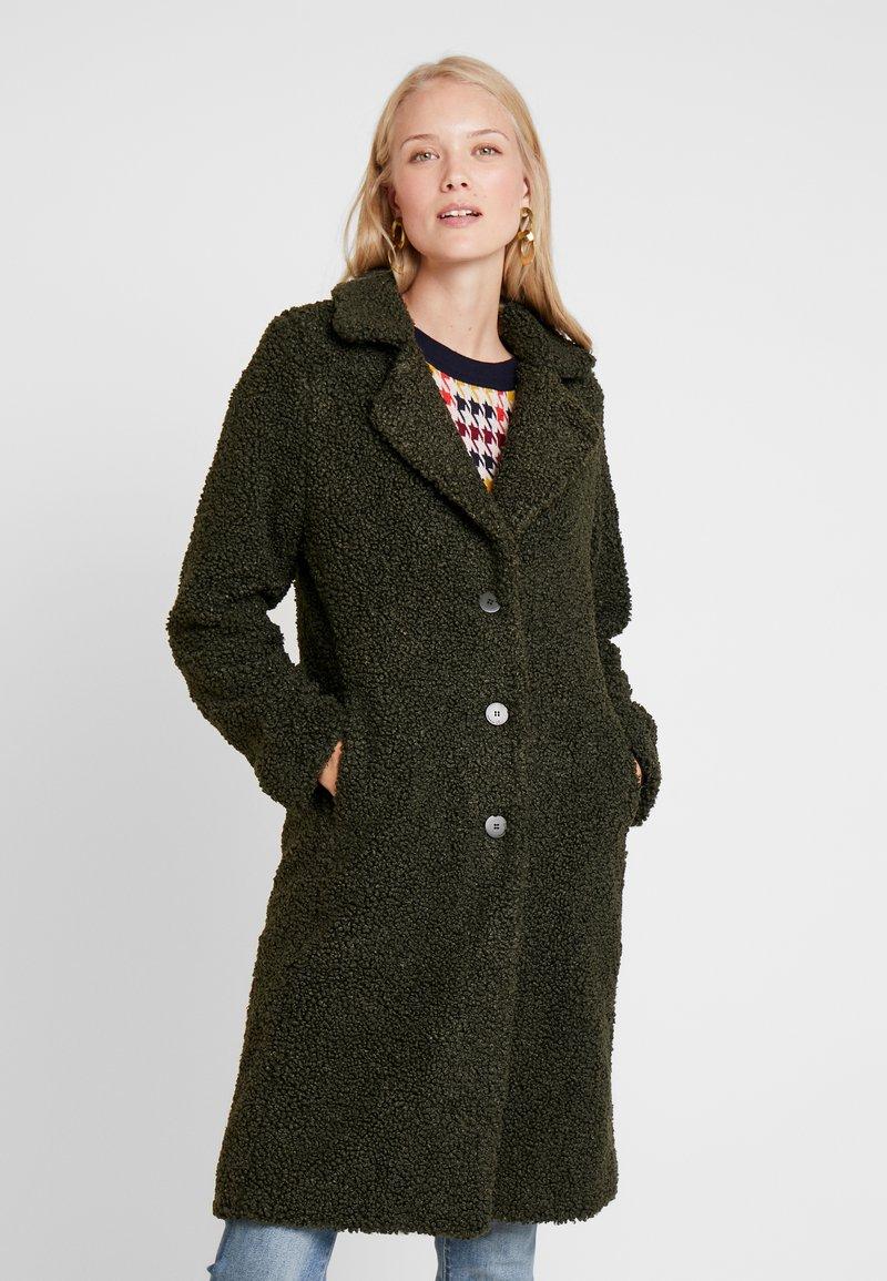 Q/S designed by - Winter coat - dark olive